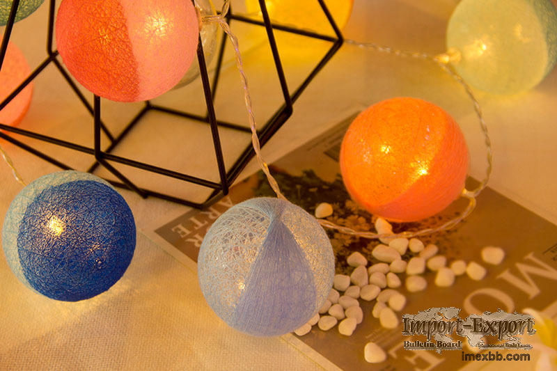 LED Double color Cotton Ball