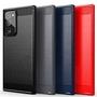 Luxury Shockproof Phone Cases Carbon Fiber TPU Back Cover Anti Slip