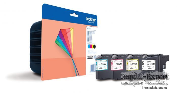 Best deal Brother LC223 Black / Colours Ink Cartridge