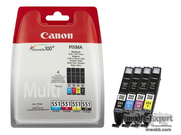 Best deal Canon CLI-551 Multipack Colour Ink Cartridge