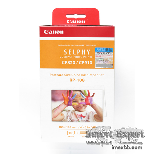 Best deal Canon Selphy RP-108 Paper and Ink