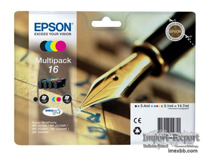 Best deal Epson Pen 16 Ink Cartridges Multipack