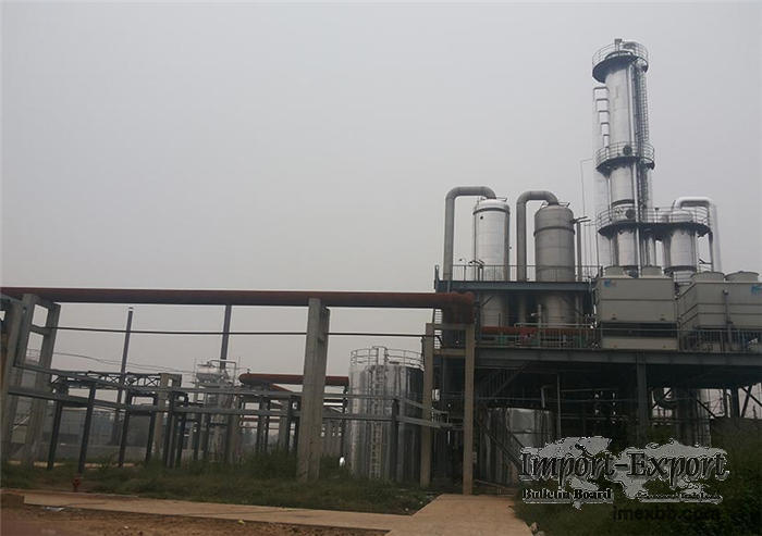 Anhydrous formaldehyde plant