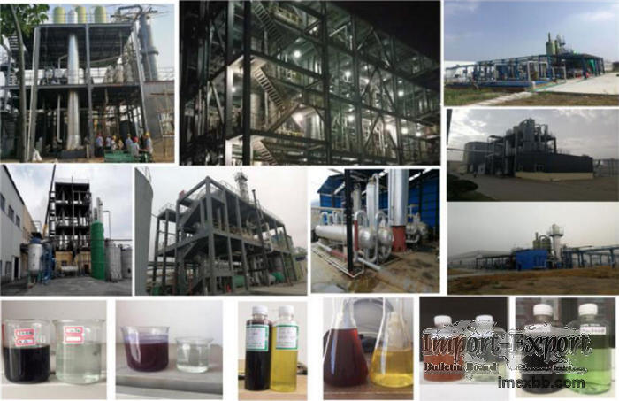 Waste water treatment by air oxidation