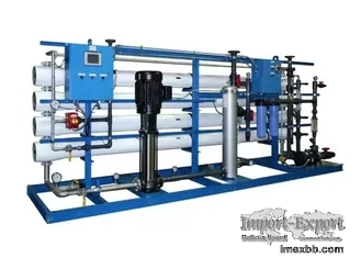 1.0mpa RO Water Treatment System , 12m3/H RO Water Filter Plant
