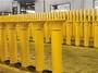 Transport Industrial 0.4kW Steel Gravity Roller Oil Resistant Mining Roller