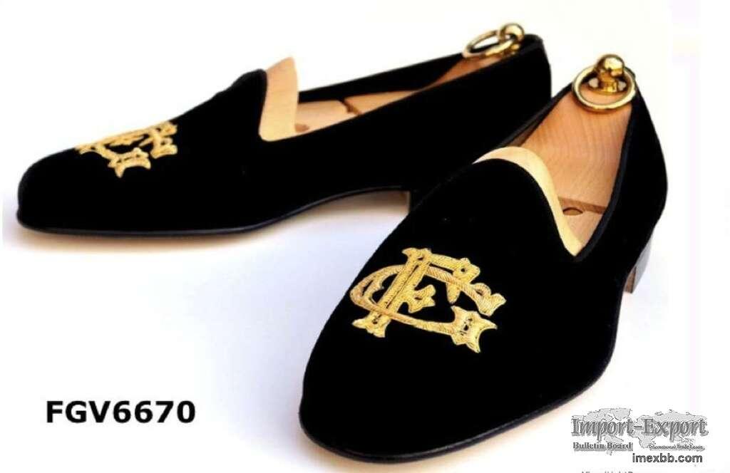 Buy velvet mens slippers