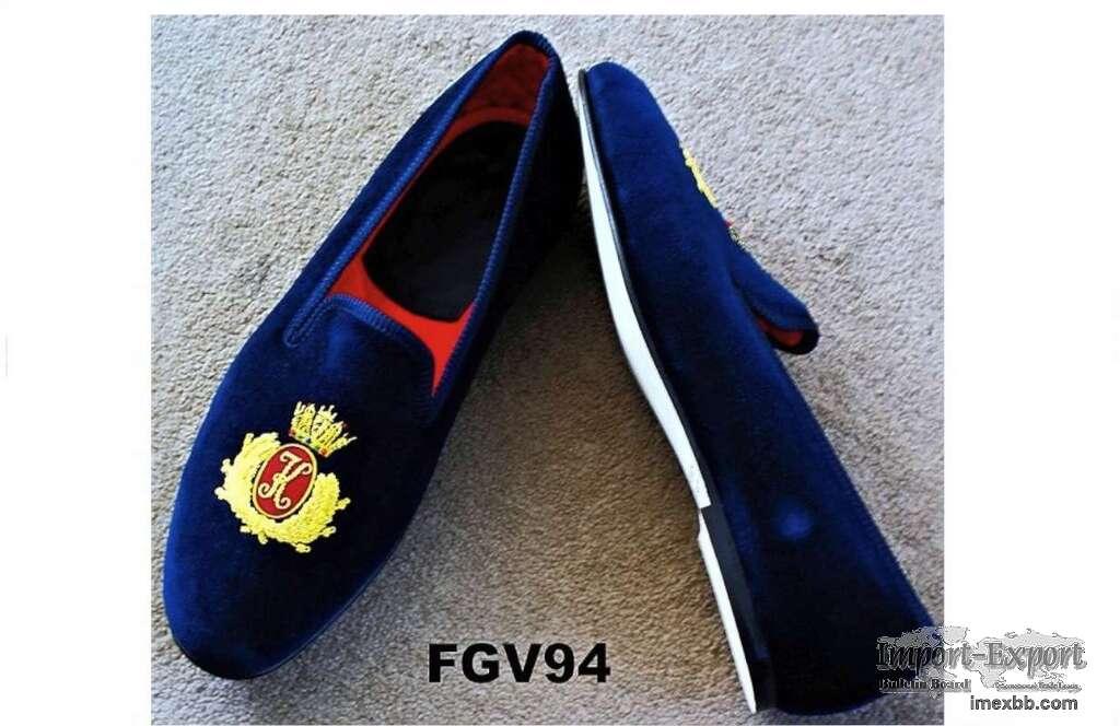 Christmas gift velvet slippers