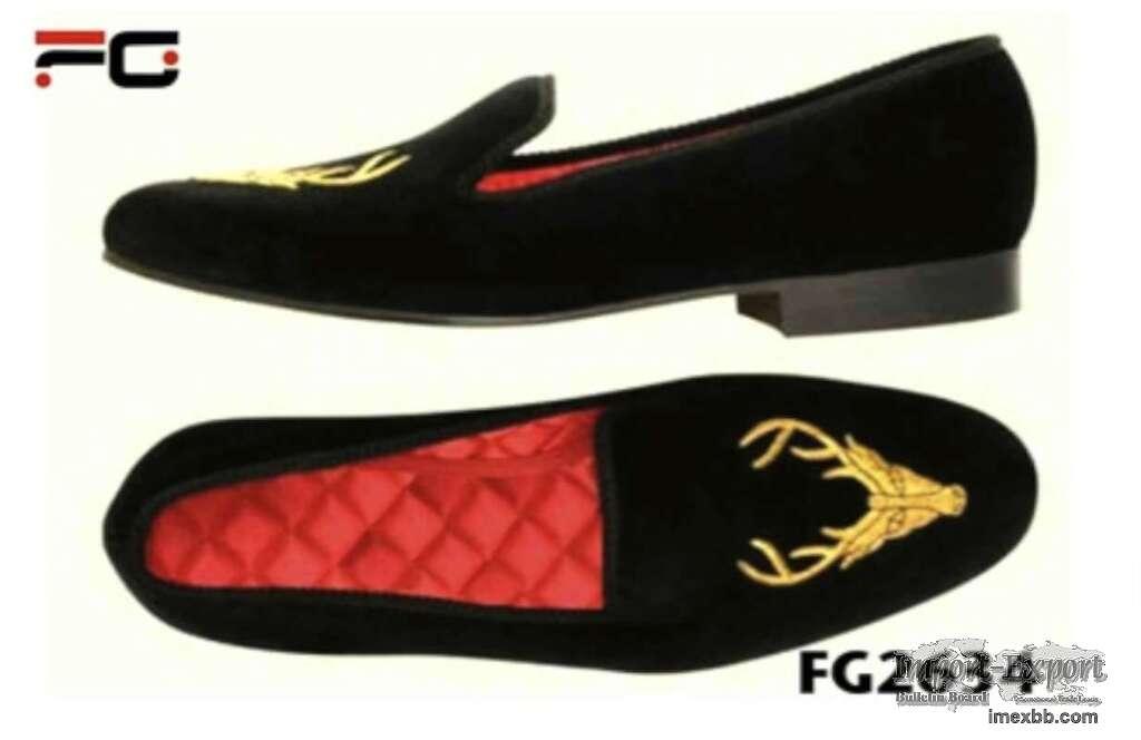 Graduation props velvet slippers
