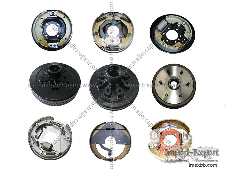 Trailer Electric/Hydraulic/Mechanical Drum Brakes