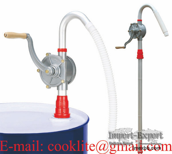 Pompa manuala rotativa de transfer ulei si motorina