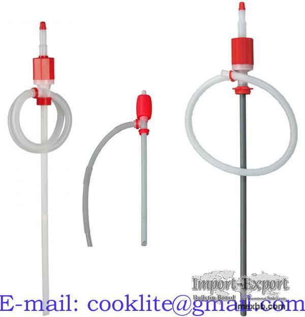 Rucni sifonove cerpadlo na chemikalie Sifonova sudova pumpa na precerpavani