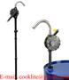 Klikove rucni cerpadlo do sudu RP90RT - Rotacni pumpa na agresivni latky