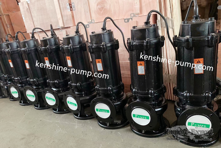QW Sewage submersible pump