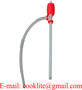 DP-14 Siphon Manual Hand Liquid Transfer Pump Plastic Pail Canister Pump