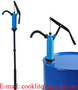 PP Plastic Hand Lever Dispensing Pump Typically for Lubricants Alcohol Fuel