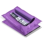Low MOQ Purple 10x13 LDPE Poly Packaging Bag For Shipping Tear Proof