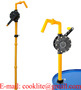 Plastic Rotary Polyphenylene ( Ryton ) Drum Pump For Aggresive Chemicals