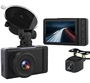 Height 7.7cm Vehicle Dash Cam Car Black Box With GPS Support WIFI