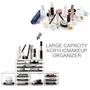 OEM ODM Large Acrylic Display Box Cosmetic Storage Box Organizer 4 Pieces S