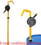 Kurbelpumpe RP-90R Manuelle Chemiepumpe Fasspumpe für aggressive Flüssigkei