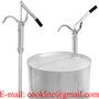 Handhebel Ölpumpe Stahlrohrpumpe Metall Fasspumpe Absaugpumpe
