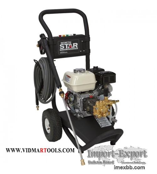 NorthStar Gas Cold Water Pressure Washer - 3,000 PSI, 2.5 GPM, Honda Engine