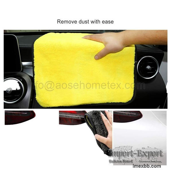 Microfiber Cleaning Cloth for Cars