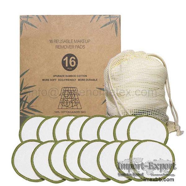 Washable velvet makeup remover cotton pad