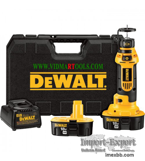 DEWALT Heavy Duty Cordless Cutout Tool Kit 18V