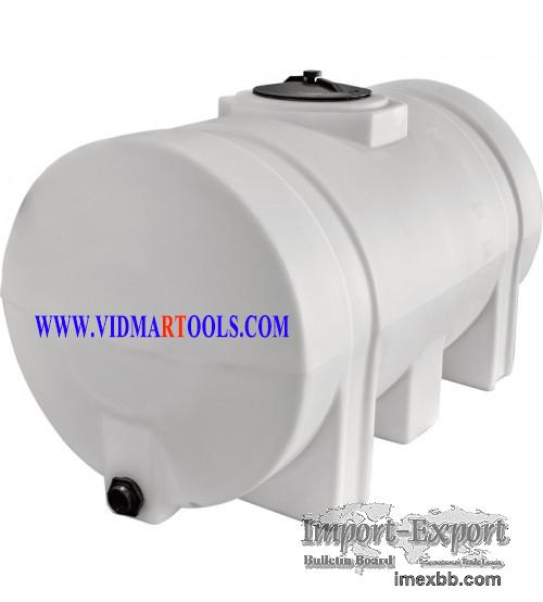 RomoTech Poly Storage Tank - Legged Tank, 325 Gallon Capacity