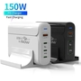 150W USB C PD Chargers PD3.0 QC4 PPS Fast Charging Computer Home Charger Ad