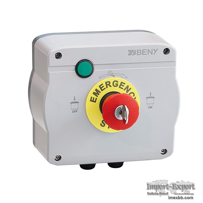 ZJBENY BFS-11 Module-Level Rapid Shutdown with Emergency Button Switch