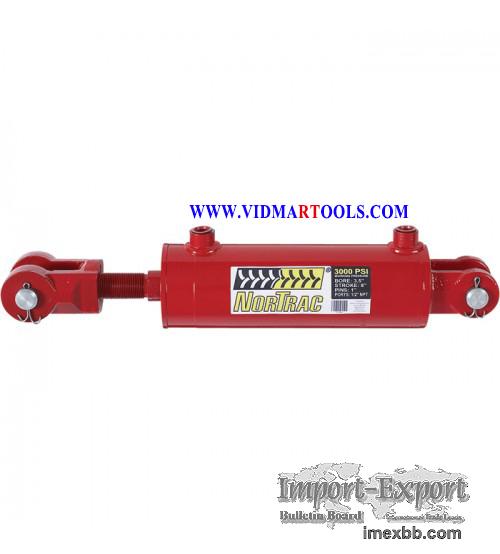 NorTrac Heavy-Duty Welded Cylinder - 3000 PSI, 3.5in. Bore, 8in. Stroke