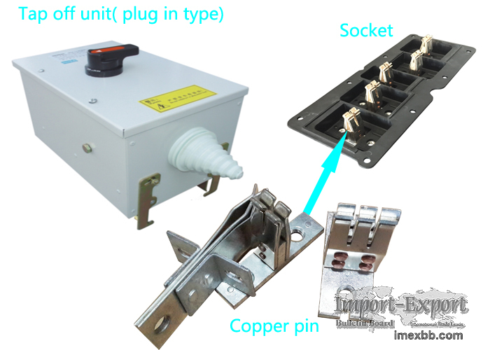 plug stab fingers for busway plug unit