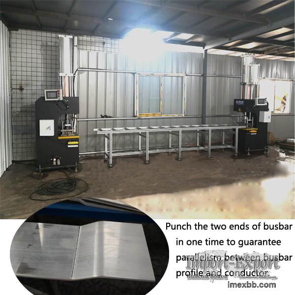 Busway punching machine for bus bar punching and bending
