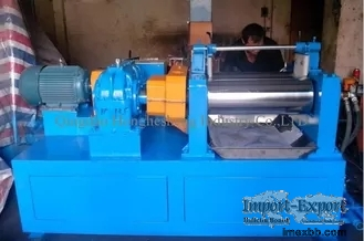 XK250 Silicone Rubber Mixing Machine 18.5KW Dia 250mm Hollow Smooth Two Rol