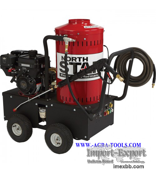 NorthStar Gas Wet Steam & Hot Water Pressure Washer - 2,700 PSI, 2.5 GPM