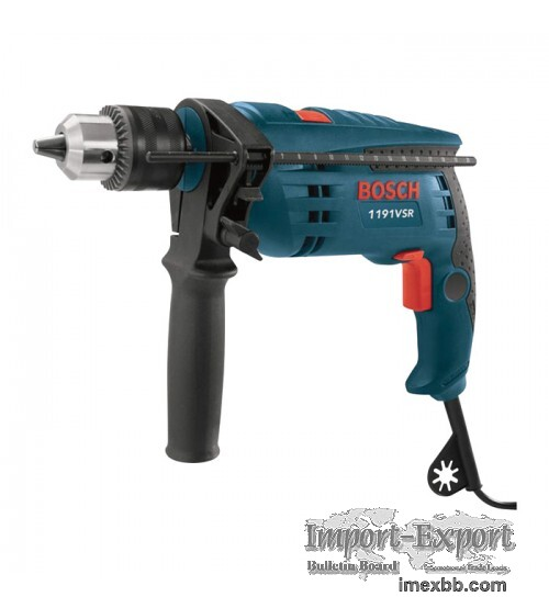 Bosch Hammer Drill - 1/2in. Chuck, 48,000 BPM