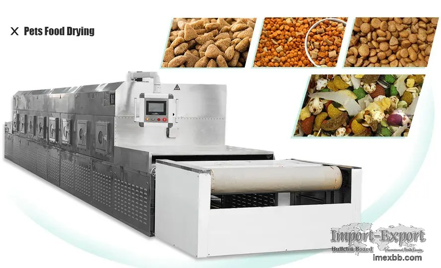 Microwave pet food drying machine  Cat&dog food dryer