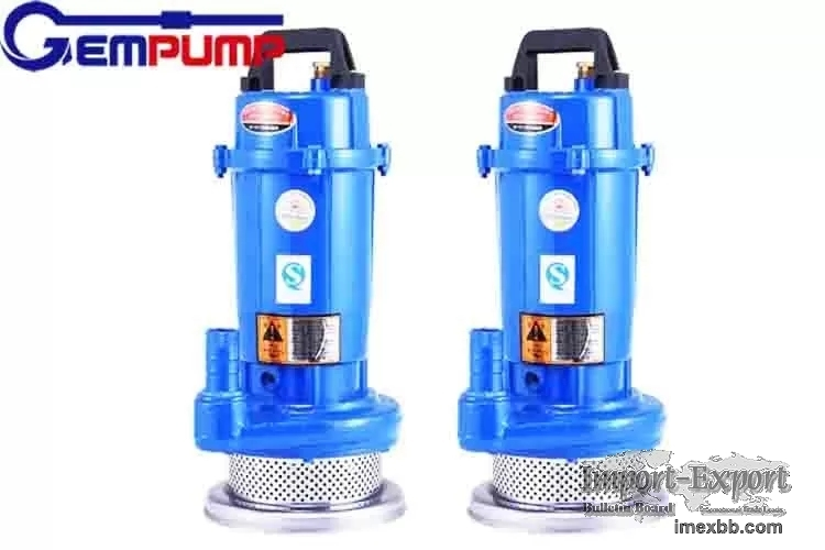 QDX 0.5HP High Pressure Submersible Borehole Pump With Float Switch