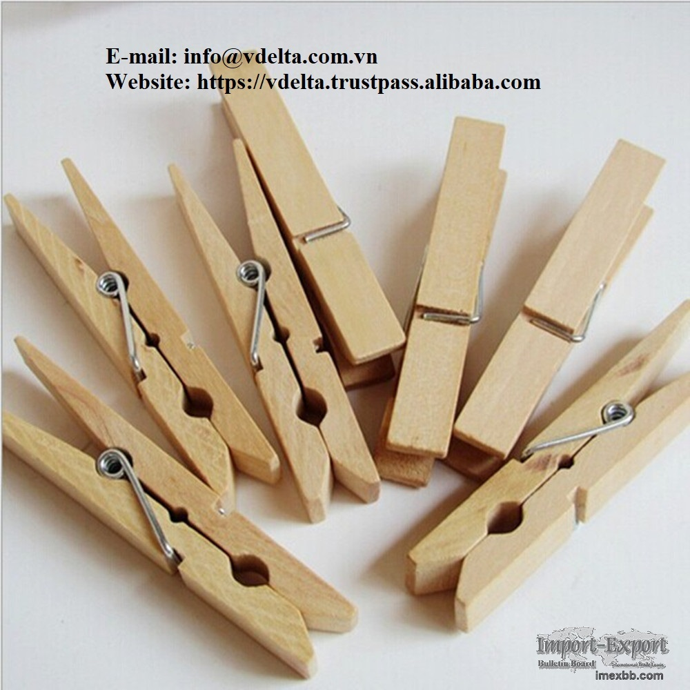 bamboo clothespin With Different Package