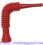 Polyethylene ( PE ) Plastic Flexible Pouring Spout 38mm/28mm Neck