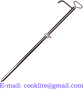 Lift Action Hand Drum Pump for Pumping Chemicals Compatible with Stainless