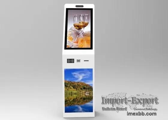 1920*1080 Interactive Digital Signage Kiosk 400cd/M2 55 Inch Multi Touch Ki