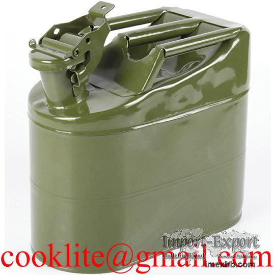 American / European Metal Fuel Jerry Can 5L Portable Diesel Petrol Gas Tank
