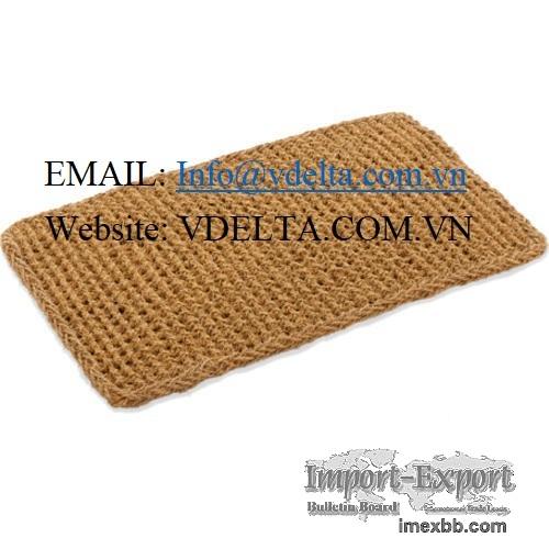 Coconut fiber mat, coir carpet, doormat