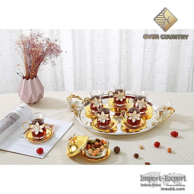 Turkish tea cup & saucer set