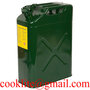 20L JerryCan Steel Petrol Fuel Tank for Boat/4WD/Car/Camping Built-in Spout