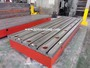 T slotted plates cast iron bed platform